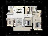 金悦华府_4室2厅2卫 建面130平米