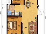 凯旋大道_2室2厅1卫 建面88平米