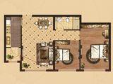 京南狮子城丁香园_2室2厅1卫 建面72平米