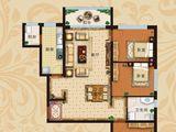 恒大翡翠华庭_3室2厅1卫 建面120平米