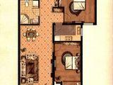京南狮子城丁香园_2室2厅1卫 建面90平米