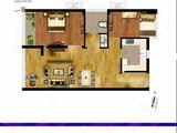 尚都后鸟巢_2室1厅1卫 建面68平米