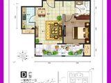 中房馨美域_1室2厅1卫 建面60平米