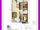 中房馨美域_2室2厅1卫 建面80平米