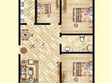 北洋景苑_3室2厅1卫 建面119平米