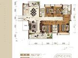 韶关富力城_4室2厅3卫 建面165平米