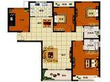 东方鼎盛花样城_4室2厅2卫 建面138平米