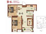 祝福红城_2室2厅1卫 建面78平米