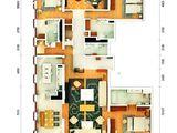 万国城moma_4室3厅4卫 建面309平米